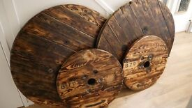 Cable reel table - Large 3.5 foot diameter