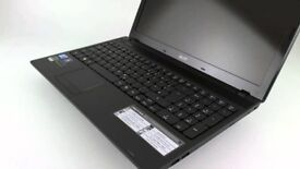 Acer Aspire 5742 Series, Black, i CORE 3. 4GB Ram, 300Gb HDD, Wide screen, Windows 7 Ultimate, value