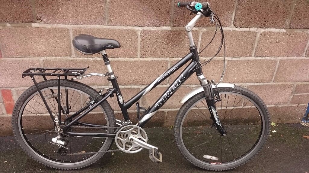 Trek Navigator 200 Ladies Hybrid Bicycle Fully Serviced In