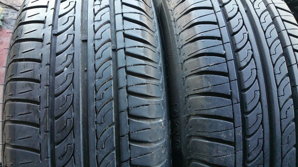 175 65 14 2 x tyres + 2 x steel wheels Vauxhall,VW,....