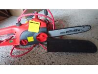 Chainsaw used once still new