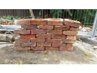 1000 red old stock bricks