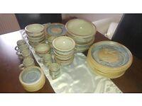 28 piece Edinbane pottery dinner set