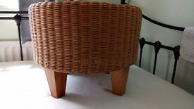 Ikea foot stall wicker