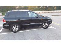 Hyundai Santa Fe cdx 55 plate