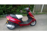 Direct Bikes Moped with full 12 Month MOT