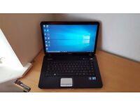 Dell Laptop Windows 10 Office 3GB RAM 250GB HDD Wifi