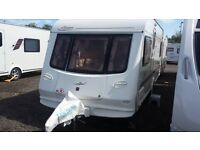 ELDDIS RIVIERA FIXED DOUBLE BED 2002. MOTOR MOVER. EXCEPTIONAL CONDITION WITH ALL ACCESSORIES.
