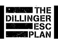 3 x Dillinger Escape Plan Tickets - Nottingham 21st Jan