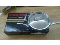 Circulon Infinite Saute Pan Cost £100 New