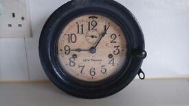 VINTAGE WW2 US NAVY SETH THOMAS DECK BULKHEAD MILITARY COLLECTOR CLOCK FAB HOME DISPLAY DECOR GWO