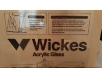Wickes Acrylic Glass Sheet - clear