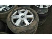 """Ford Focus alloys and tyres 16"""" 4x108"""