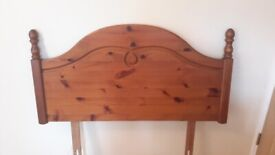 Antique Pine Single Headboard £5 Collect from CV7