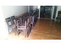 Restaurant furniture tables and chairs