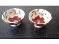 Emma Bridgewater bowls x 2 for nuts or decoration
