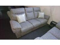 New Fabric 3+2 Reclining Sofa