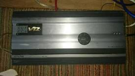 """Alpine mrv 1507 car amp amplifier and a 15"""" type r sub subwoofer c"""