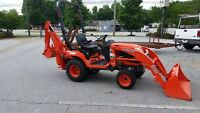 Kubota Backhoe for rent