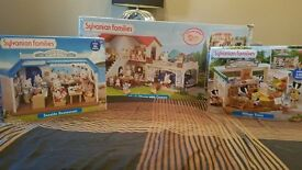 Sylvanian Families 3 item bundle