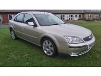 FORD MONDEO DIESEL GHIA X, AUTOMATIC, CRUISE CONTROL, FULL LEATHER
