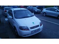 Chevrolet, kalos, 2005, 1.4, automatic, white, very good condition, lady owner for £1200.00