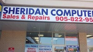 Computer repair and virus removal service