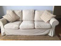2 & 3 seater IKEA Erktop sofas
