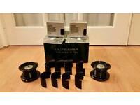 Shimano Ultegra XTD 14000 Spare Reel Spools & Spool Reducers 10000 & 3500 New