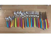 Amefa Eclat Kaleidoscope 24 Piece Cutlery Set