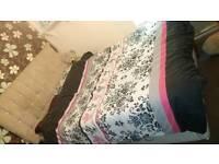 Kingsize Divan Bed Base, Mattress & Headboard