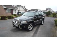 jeep grand cherokee 2.7 crd sport(mercedes running gear)not to be missed
