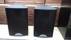 Martin Audio F15 Blackline speakers