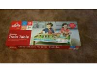 Train table and track train set brand new