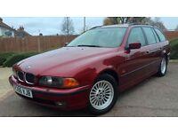 BMW 540I SE TOURING 111K FULLY LOADED SAT NAV RARE CLASSIC