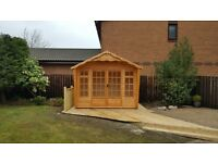 SUMMERHOUSE 20MM THICK LOG T&G £1730