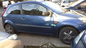 Ford fiesta long MOT good condition.
