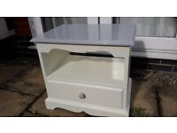 TV Unit White & Grey