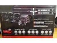 ESP Quad Channel 500GB DVR networkable CCTV System Digiview 4i - Free USB backup