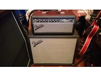 Fender Super Champ X2 and 1 X 12 Fender Cab Loaded with Celestion V30