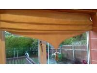 3 x roman blinds