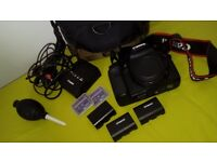 Canon 7d Mark 1 with accessories