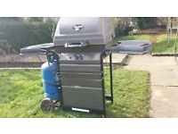 CHAR-BROIL GAS BARBEQUE . As new having been used