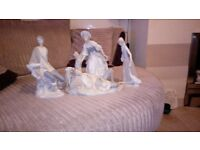 LLADRO 3 Figurines exceptional condition