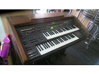 farfisa ts 901 electric organ stool