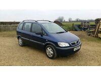 Vauxhall zafira design 7 seater mpv not vw touran Renault scenic Ford Focus cmax Galaxy VW sharan