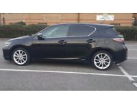 Lexus CT 200h 1.8 F Sport CVT Hybrid 5 door,Automatic,Black,only 27000 miles,1 year MOT