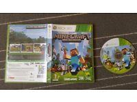 Xbox 360 games MINECRAFT
