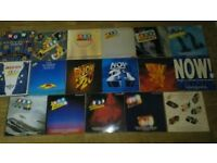 17 x now that's what i call music - vinyl LP's no 20 ,21 , 22 ,