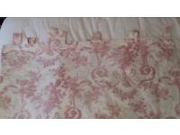 """Nursery Curtains, Laura Ashley Pink """"Cherub"""" curtains, Black out lined."""